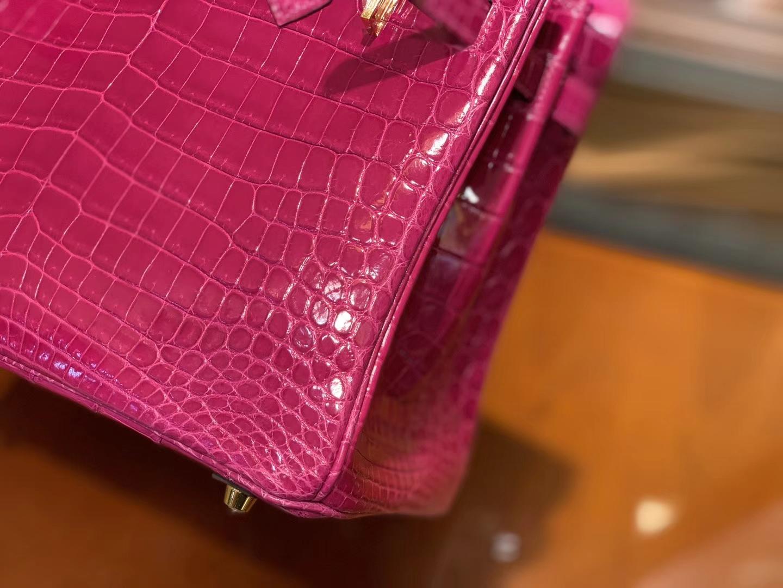 Hermès(爱马仕)Birkin 25cm 30cm 天方夜谭紫 一级尼罗鳄鱼皮 顶级工艺全手工制作