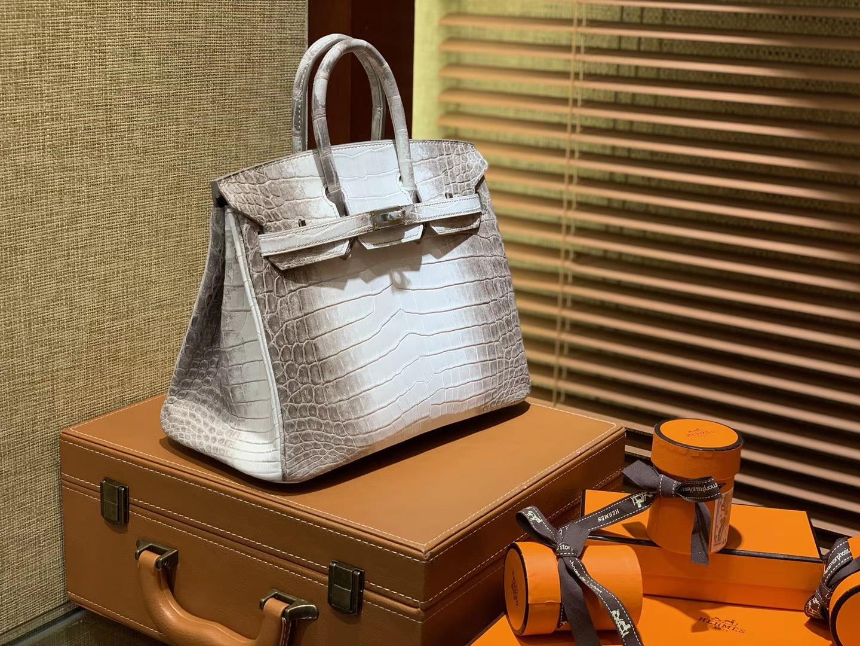 Hermès(爱马仕)Birkin 25cm 30cm 喜玛拉雅 一级尼罗鳄鱼皮 顶级工艺全手工制作