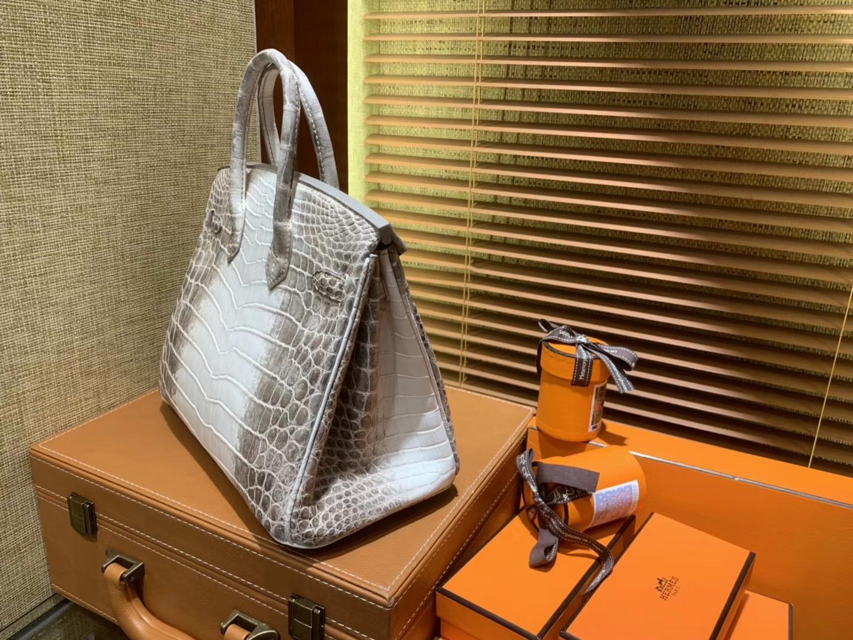 Hermès(爱马仕)Birkin铂金包 喜玛拉雅 包中之最 包中皇后 雪山之颠 顶级手缝工艺 25cm