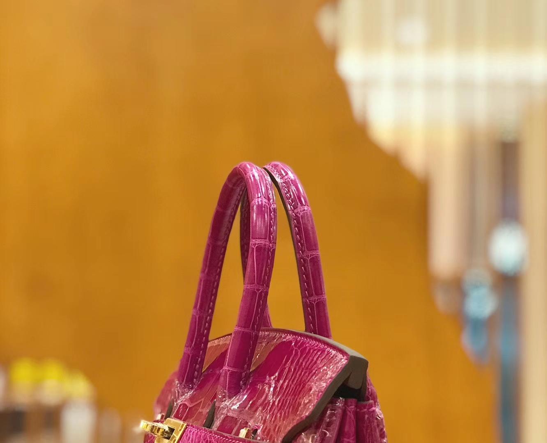 Hermès(爱马仕)Birkin 铂金包 天方夜谭紫 美洲 方块印 25cm