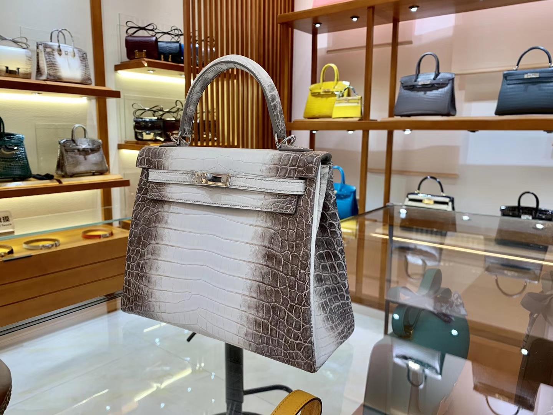 Hermès(爱马仕)Kelly 凯莉包 新出现货 喜马拉雅 包中之最 纹路一级 品相一等 28cm