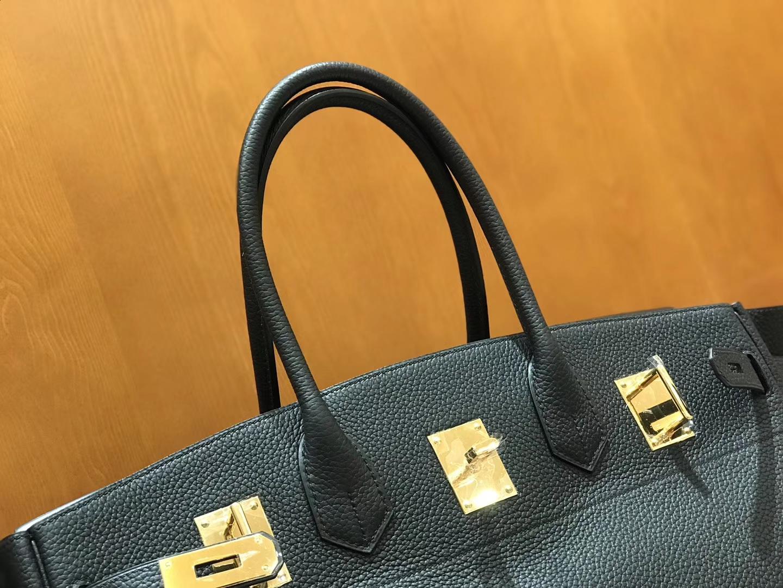 Hermès(爱马仕)Should Birkin 42cm togo 经典黑 金扣 全手工缝制 现货
