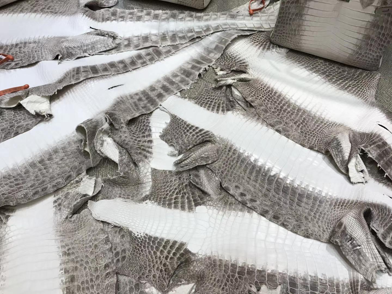 Hermès(爱马仕)鳄鱼皮 3张成就一枚包包