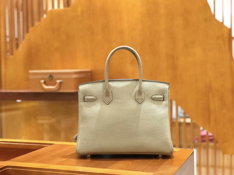 Hermès(爱马仕)Birkin 30cm Touch 系列 斑鸠灰 新增现货